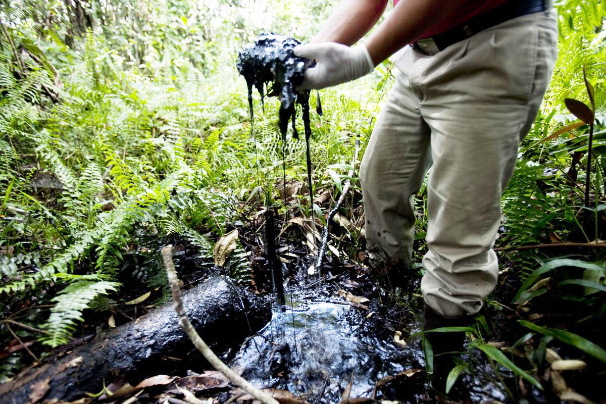 Fotos de derrame de petroleo en monagas 46