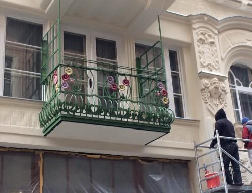 Kíváncsi Budapest legszebb erkélyére? Most megújult!